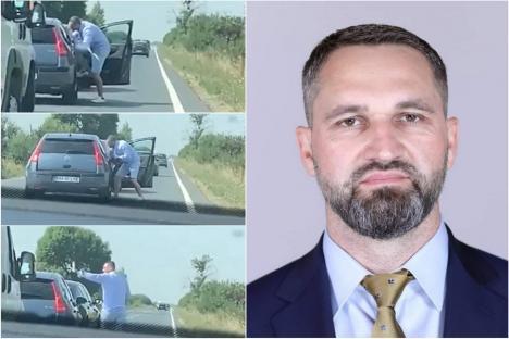 Deputatul Mihai Lasca a fost condamnat definitiv: 2 ani de închisoare cu suspendare pentru că și-a bătut rivalul în trafic (VIDEO)