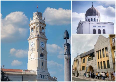 Se redeschide Turnul Primăriei. Acces gratuit, de Ziua Oradiei, şi la alte obiective turistice
