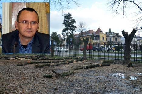 'Oradea nu este proprietate de partid!': Ecologistul Orlando Balaş cere Primăriei anularea contractului de concesiune pentru Parcul Bălcescu