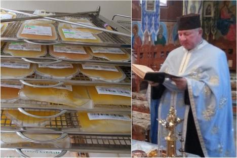 Apel la donare de plasmă pentru preotul ortodox din Cefa, bolnav de Covid-19 şi internat la Terapie Intensivă