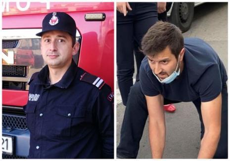 """Salvatorii de lângă noi: """"Îngerul"""" care a salvat un motociclist rănit în Oradea este un fost pompier. Un alt militar ISU a salvat o familie dintr-un incendiu"""