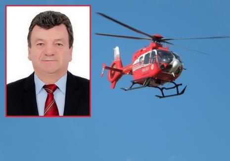 Ce bine e să fii parlamentar PSD: Un senator a cerut să fie dus cu elicopterul SMURD la Bucureşti, pentru o… diaree!