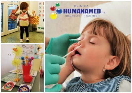 Şcoală în siguranţă! Continuă reducerile de 35% la testele antigen Covid pentru copii, la laboratorul Humanamed din Oradea