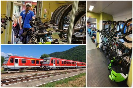 Tren de weekend pe ruta Oradea – Bratca pentru turişti şi biciclişti, cu un operator privat. Cât costă biletul (FOTO)