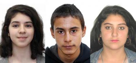 """I-aţi văzut? Trei adolescenţi, între care şi """"fetiţa problemă"""" Abigail Bordaş, au fost daţi dispăruţi"""