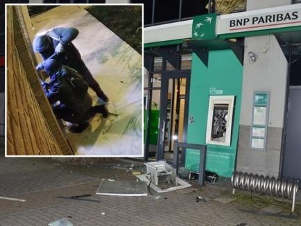 Bandit internaţional prins de poliţiştii din Tinca după o urmărire ca-n filme: Banda lui Fănică Pleșcan a strâns peste 700.000 euro jefuind bancomate cu explozibil