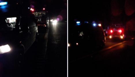 Tragedie pe autostradă: Un bihorean de 44 de ani a murit după ce a căzut de pe un pod înalt de 12 metri al Autostrăzii Transilvania