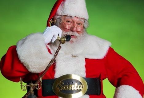 Micuții orădeni îl pot suna pe Moș Crăciun pentru a-i spune dorințele