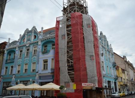 Chef de muncă: Firma Abed Nego și-a luat pauză de la renovarea Palatului Moskovits