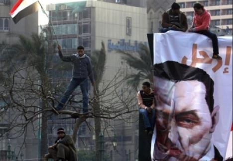 Preşedintele Egiptului a demisionat