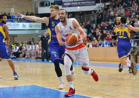 Baschet: CSM CSU Oradea se desparte de jucătorul bosniac Muhamed Pasalic