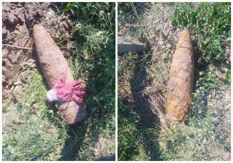 Urmele războiului: Muncitorii care lucrau la reţeaua de canalizare din Biharia au dat peste muniţii neexplodate