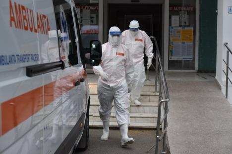 Niciun nou caz Covid în Bihor după mutarea pacienţilor infectați din Rogerius în Staţionarul II din centru