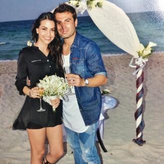 Adi Mutu s-a căsătorit pentru a treia oară. Imagini de la ceremonia care a avut loc în Cuba (FOTO)