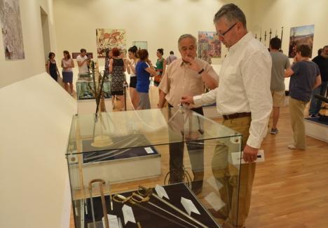 Cod roşu la Muzeu! Noul sediu al Muzeului Ţării Crişurilor nu are climatizare (VIDEO)