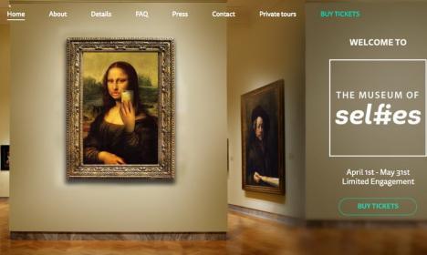 În Statele Unite s-a deschis Muzeul Selfie-urilor