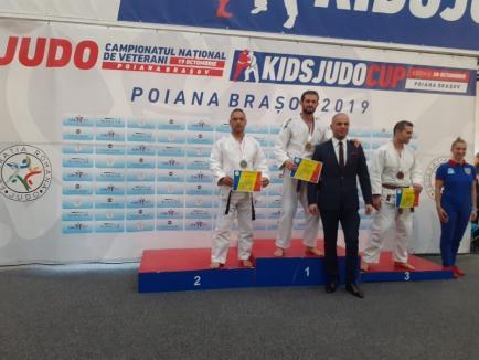 Cinci medalii la Campionatul Național de Judo Masters