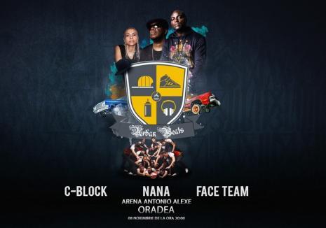Nana și C-Block vor concerta la Arena Antonio Alexe. Vezi mesajul transmis de Nana pentru orădeni!