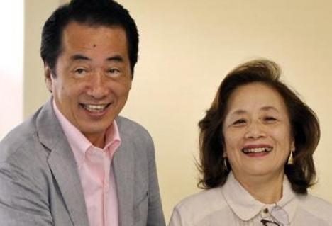 Premierul japonez, făcut de râs de nevastă