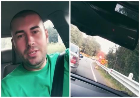 """Agentul pepene: Cum se laudă un polițist din Bihor că a capturat """"6 bucăți de negri"""" într-o zi (VIDEO)"""