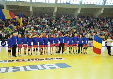 Echipa naţională de handbal feminin va reveni la Oradea