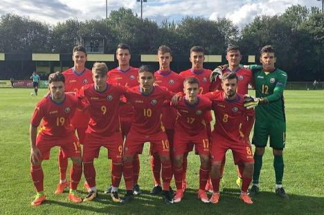 Orădeanul Ricardo Fărcaş a înscris primul gol pentru naţionala U18 a României
