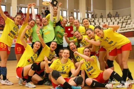 Naţionala de handbal feminin tineret pregătește la Oradea participarea la Campionatul European