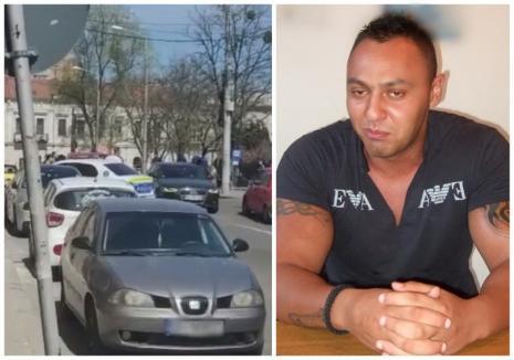"""Interlopul Romi Neguș a fost încătuşat! Mascaţii l-au """"săltat"""" în zona Parcului 1 Decembrie din Oradea"""