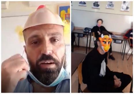 Doi profesori din Oradea instigă la nepurtarea măştii în şcoală. Inspectoratul Şcolar Bihor le face plângere penală! (VIDEO)