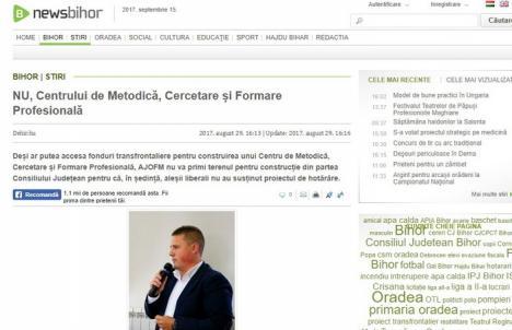 Agenţie de Partid: Agenţia de ştiri a Consiliului Judeţean, transformată în 'trompetă' pentru şefii PSD şi UDMR
