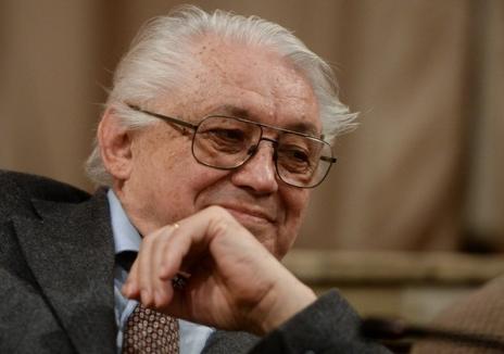 Scriitorul Nicolae Breban îşi lansează două romane la Universitatea din Oradea