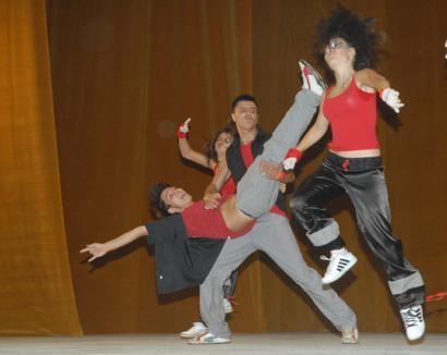 Începe festivalul internaţional de dans Nymphea
