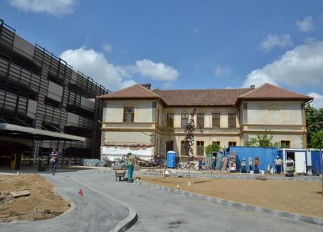 ADP Oradea îşi va muta sediul lângă parcarea supraetajată