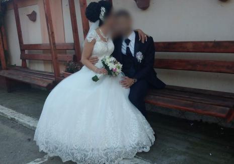 Altă nuntă, altă carantină: Asistentă medicală ATI din Marghita, proaspătă soţie de poliţist, confirmată cu Covid-19 la câteva zile după nuntă