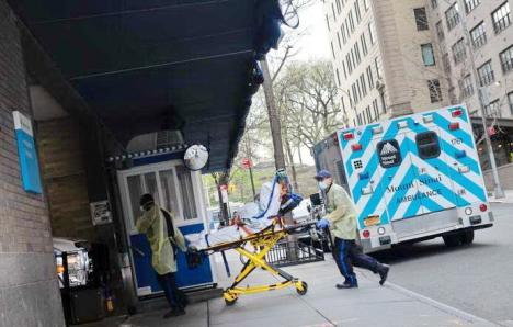 Coronavirus în lume: SUA au depăşit 500.000 de infectaţi şi 2.000 de decese pe zi