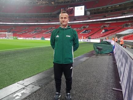 Octavian Şovre va arbitra derby-ul CFR Cluj - FCSB