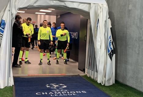 Octavian Şovre, din nou în Champions League: Va arbitra la Manchester United – Istanbul Başakşehir