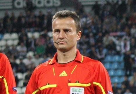 Orădeanul Octavian Şovre va arbitra la 'finala' Ligii I de la Craiova, dintre Universitatea şi CFR Cluj