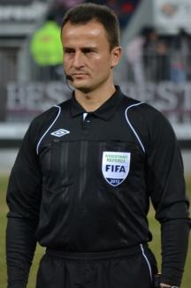 Octavian Şovre va oficia la jocul dintre Bayern Munchen şi Beşiktaş Istanbul, din Liga Campionilor