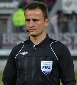 Performanţă pentru arbitrajul bihorean: Octavian Şovre va oficia la EURO 2016!