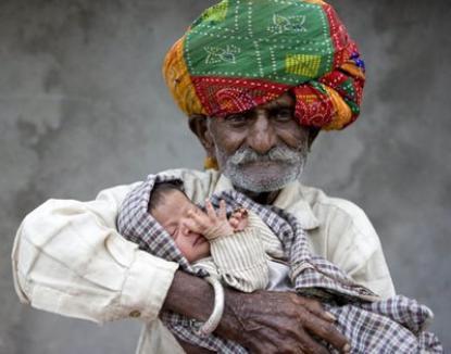 Virilitate, nu glumă: la 90 de ani, tată a 21 de copii