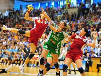 Oltchim Râmnicu Vâlcea, calificată în finala Ligii Campionilor la handbal feminin