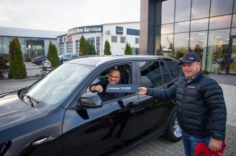Grupul West Oradea a livrat vehiculul cu numărul 10.000! (FOTO)