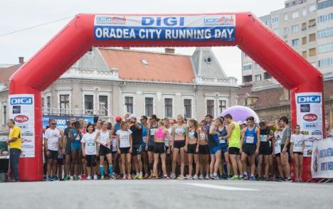 Pasionaţii de mişcare sunt invitaţi, duminică, la Oradea City Running Day