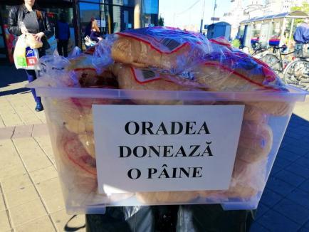 """""""Oradea donează o pâine"""", la a XI-a ediție. Sărmanii vor primi pâini în cinci locuri din oraş"""