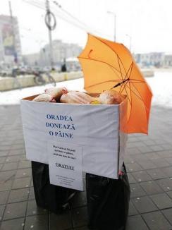 """""""Oradea donează o pâine"""": Peste 150 de pâini donate pentru sărmanii oraşului"""
