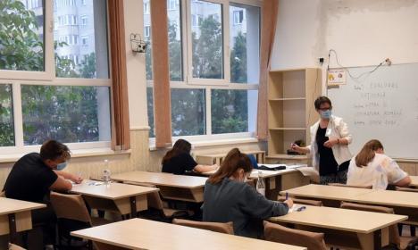 Amânare din cauza Covid-19: Patru elevi din Bihor, examinaţi în sesiunea specială a Evaluării Naţionale