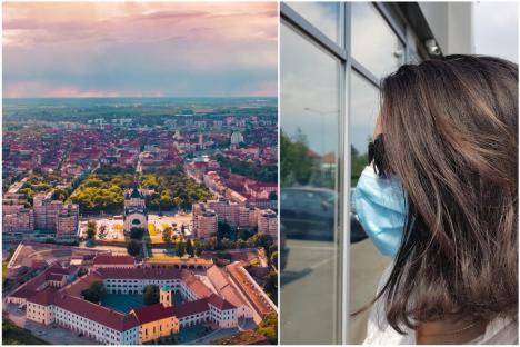 Oradea, în 'scenariul roşu': De marţi, se închid restaurantele, şcolile trec în online, iar masca devine obligatorie şi pe stradă