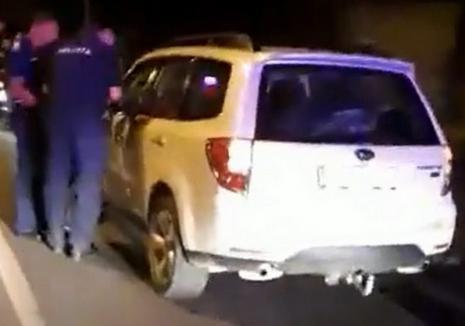 Declaraţii şocante ale unui martor în cazul şoferului care a tras după maşină un câine în Oradea: Făcea ture pe centură