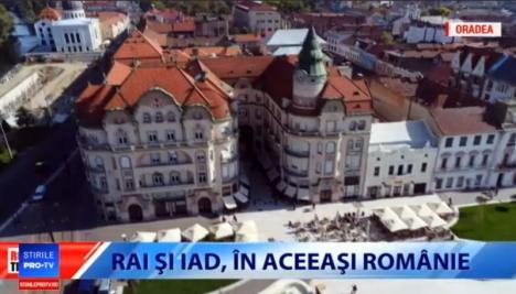 Oradea 'ca la carte': Laude pentru oraş şi primarul Bolojan, la emisiunea 'România, te iubesc' (VIDEO)